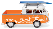 078957_WIKING Vedes VW T1 Doka Beach Bulli
