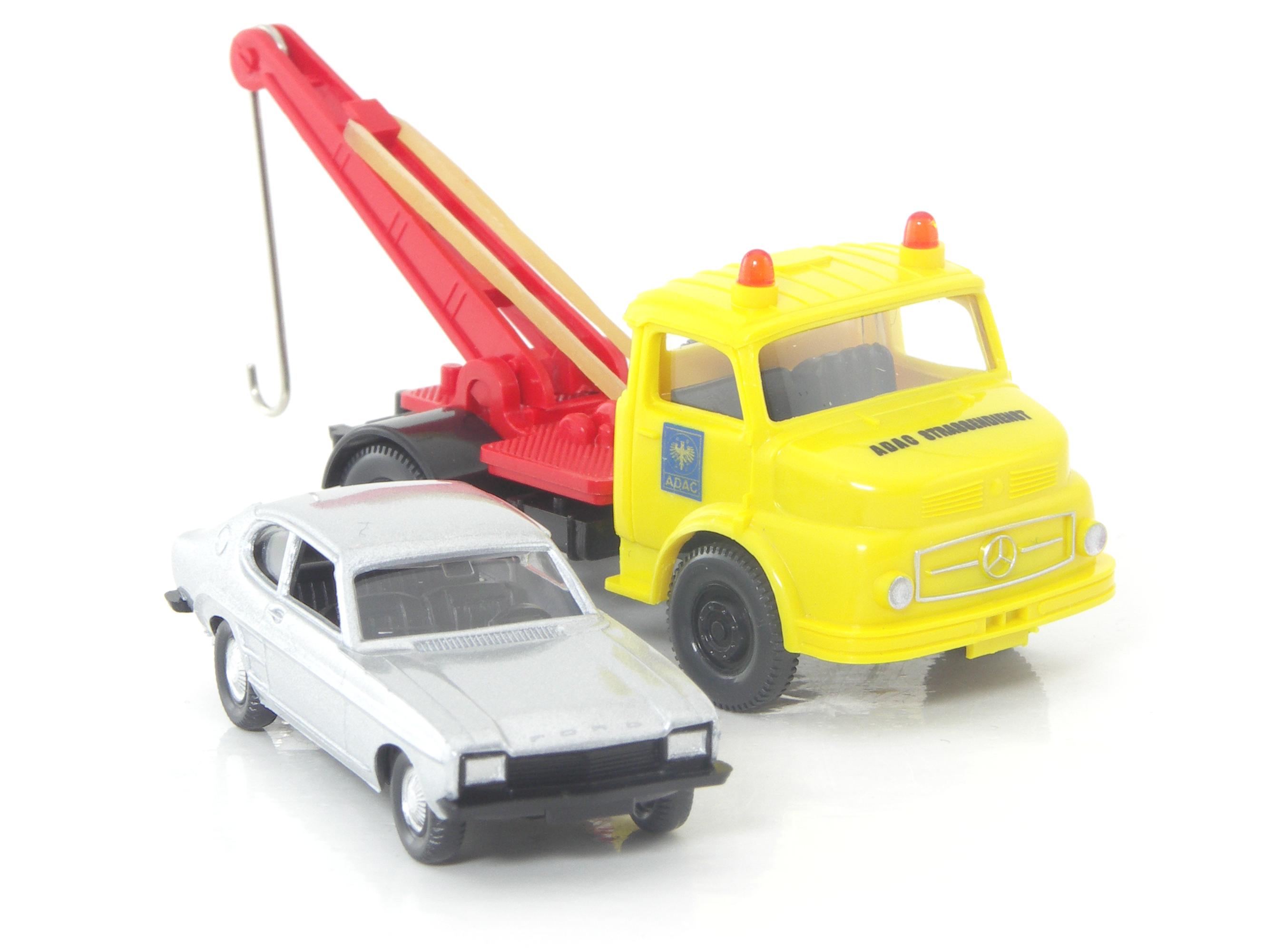 Mb 1413 Abschleppwagen Adac Mit Ford Capri