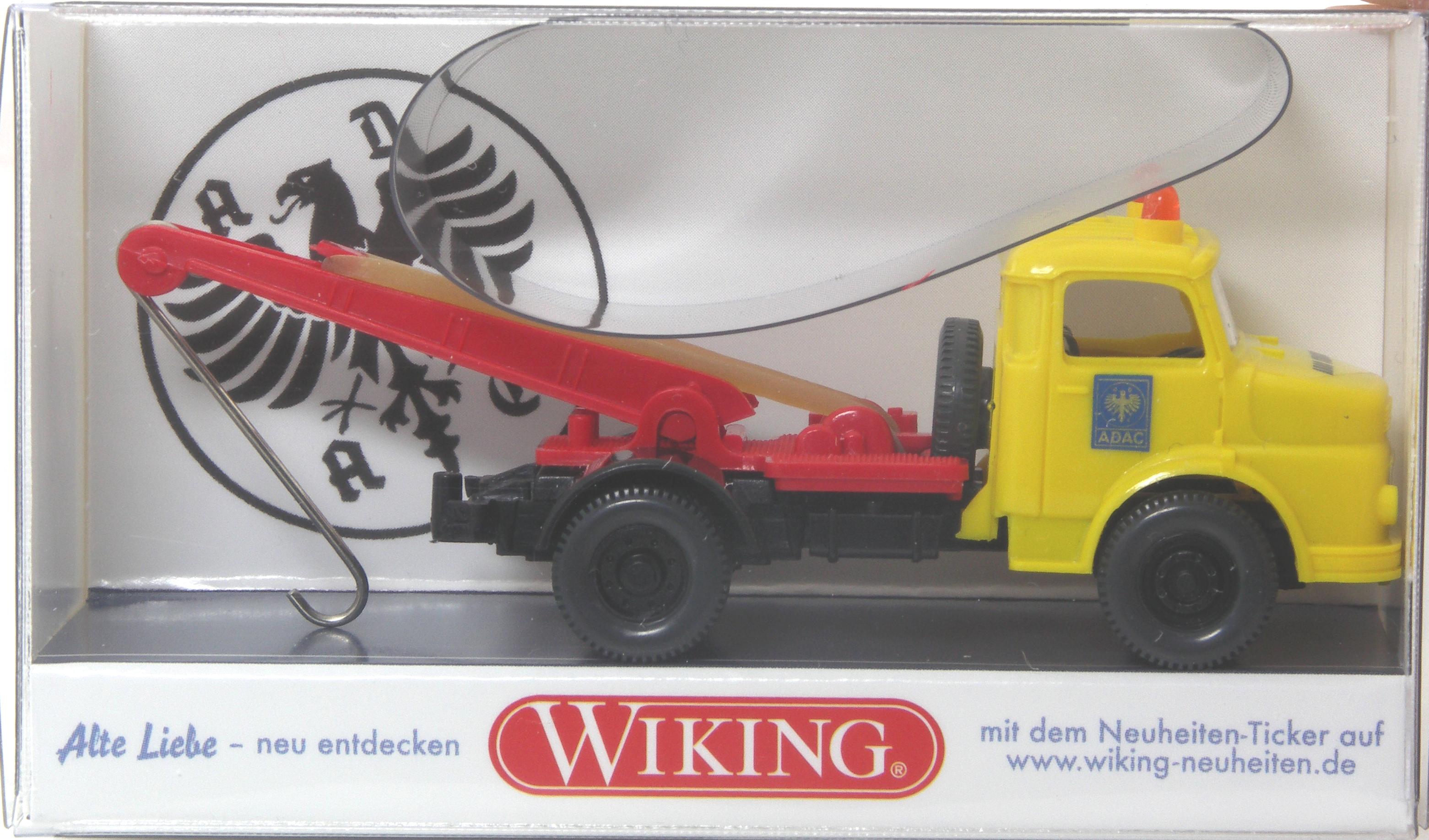 ar Wiking MB l 1413 grúa ADAC-colección Wiking-fan