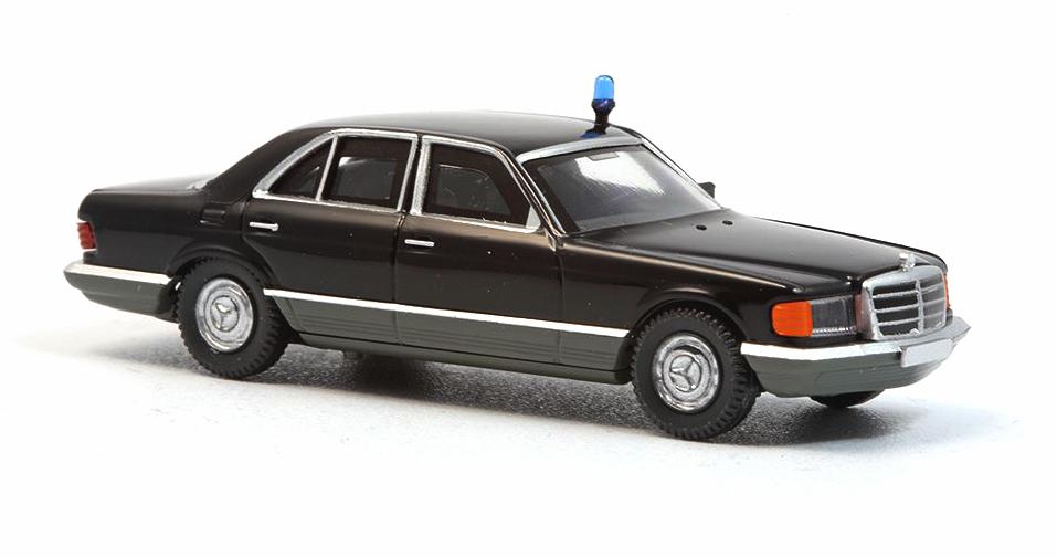 Limited W126 Personenschutzfahrzeug gepanzert Wiking 1:87,Mercedes 500 SE